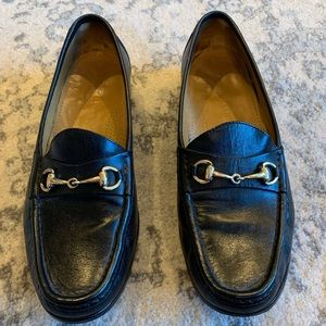 Cole Haan Bit Loafer - Black with Gold Bit - 9.5M